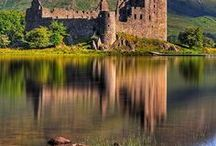 "Europe - Medieval Castles I'd Love to Visit / Obviously, since these medieval castles are on my ""to visit"" list, none of them are photos I've taken. I've shared them from other sites and hope you enjoy them as much as I do."