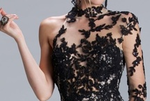 Elegance in Black & Black with Other Color Combinations / by Barbara Dooley Evangelista