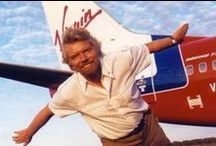 Richard Branson / Our collection of inspirational stories from Richard Branson for Entrepreneur.com / by Entrepreneur
