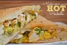 Homemade Hot Pockets / Hot pockets are a great convenience food & these copycat recipes are sure to satisfy!