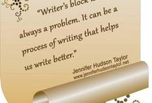 Quotes - Jennifer's Writing Quotes & Tips / Inspiring quotes and writing tips from Jennifer to help authors on their journey to publication and building a platform after publication.