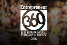 Entrepreneur360 / Celebrating  Entrepreneur360™, our index of the most entrepreneurial companies. #E360Index / by Entrepreneur