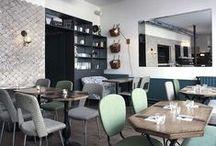 RESTO | HÔTELS | COMMERCES / Inspirations pour restaurants, hôtels, commerces, lieux recevant du public.
