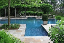 Gardens: Pools & Water Features / by Janet Mcardle