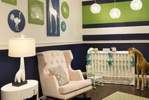 Nursery / by Laurie - CEO Customized Walls Founder Interior Design Community