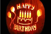 Halloween Birthday / by Robyn Gombar Augustine
