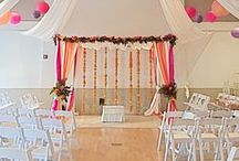 Chuppahs & Arches / A beautiful way to frame your ceremony.