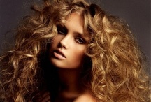 """Love of Curls / """"Beware of the curls in her hair, for she excels All women in the magic of her locks; And when she winds them round a young man's neck, She will not ever set him free again. """""""
