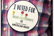 Martha Stewart's American Made Award! / Local Color Flowers has been Nominated for a 2013 Martha Stewart Award! Folks can vote by clicking the link! you can vote 6x per day, everyday untl the 13th! Please vote and share the voting link with your friends!