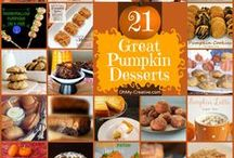 Fall Recipe Roundup  / All that's awesome in fall recipes and more!