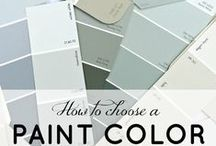 Paint Profiles / Some of the most chic paint swatches I adore. Use for creating your own chic living space.