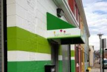 Our Studio / Our studio is located at 3100 Brentwood Avenue, Baltimore, MD 21218.