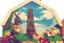 Buurland buitenmuren / Er komt steeds meer lelijke graffiti op de buitenmuren van Buurland. In samenwerking met SSH gaan we op zoek naar een mooier alternatief (en hopelijk een oplossing tegen verdere verloedering).  http://www.facebook.com/buurland.utrecht