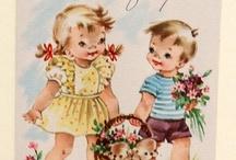 Meme's & Vintage Clip Art -Birthday's, etc.