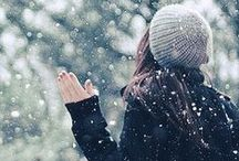 Wintersong / Winter, winter, winter. Snow, trees, hot chocolate and scarves. / by Lia | sugar & snapshots