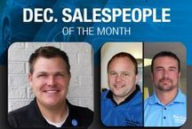 2014 Salespeople of the Month / by Tom Kadlec Honda