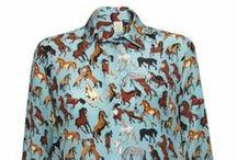 SILKEN FAVOURS / Silken Favours silk shirts, hand made in the U.K. Pretty, fun and silky