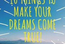 Dreams / If you are going to live a great life, you have to dream and you have to believe that you can have what you dream about. Dream big, dream home, printable, dream life, dreamer.  http://www.carminwharton.com