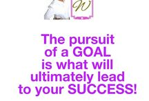 Goals / The key to achieving success is to set goals, create a plan to achieve goals, take action which will lead to goal achievement.  Rinse and repeat.  Goals, life goals, goals list, goals list printable, goals quotes, goal setting, goal setting personal, goal setting life, how to set a goal, how to achieve a goal.