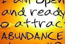 Wealth & Abundance / You deserve to be wealthy and to live abundantly. Wealth, abundance, opulence, rich, decadent, prosperity, millionaire, money