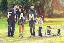 Family Picture Ideas / For when we can show you our kids faces!!!