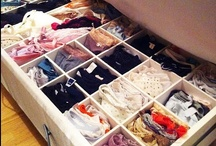 Organization & Storage / Organization is my way of relieving stress.  / by Madison Shrader