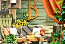 Curb Appeal / New ways to being your exteriors to life! / by Red Couch Interiors