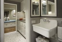 Luxurious Oasis / Modern bathroom designs.  / by Red Couch Interiors