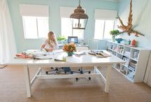 Command Center / Home Office Designs / by Red Couch Interiors
