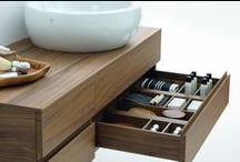 Bathroom storage / Relax and revive your spirits with harmonious bathroom furniture - where all the bathroom essentials are clearly out of sight.
