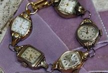 Altered Vintage Watches  / by Jennifer Kaye Smith