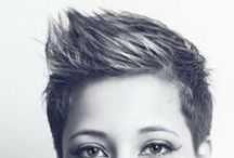 short cuts for thick hair / by Nancy Solla