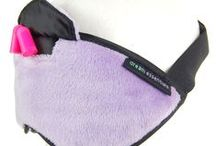 Dream Essentials Purple Sleep Mask / Purple Sleep Mask Gift Ideas  / by Dream Essentials