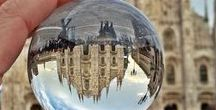#MyWorldThroughTheSphere / I love photography and I search new way to take it. This is a collection of photo taken through a crystal ball.  http://chiaraviaggiante.blogspot.it/p/throughthesphere.html