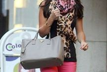 About town style... / Fashion seen about town!