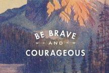 advice & encouragement