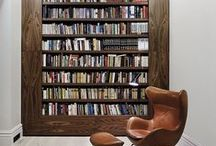 Bookshelf Envy / Amazing bookshelves and book keeping spaces