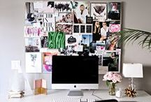 office/workspace / by Shay Mitchell