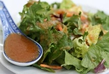 Salads and Dressings / Beautiful salad and dressing ideas. Everything from savory to sweet salads