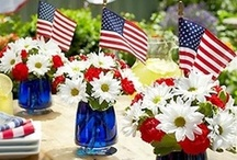 4th of July/Memorial Day Ideas / by Liana Shafer