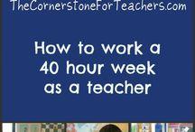 Teacher Stuff:  First Weeks