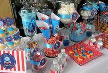 Thomas Party / Thomas the Train Birthday Party ideas and inspiration.
