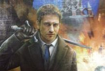 Gerard Butler Art along with some cool and rare collectables / by Kathleen