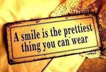 Smile / Smiling is infectious, You catch it like the flu...