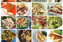 Recipes under 600 calories / When you follow a healthy diet, it is difficult to know what you can eat to keep a healthy life or maintain sustainable weightloss.  Let's share recipes of delicious but low calorie food.