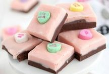 Crazy for Valentine's Day / A collection of pink and red desserts, the perfect Valentine's Day Recipes!