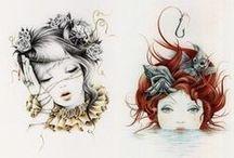 ills + drawings+sketchbook / by Kathleen Callahan/Arc + Totem
