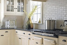 kitchen renovation / Kitchen design ideas for dreamy kitchen renovations on  both our small city galley kitchen and imaginary kitchen plans at our farm.