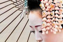 JAPAN_Kanzashi 簪 / Japanese hair accessory / by M. Kawatou
