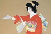 JAPAN_NIhonga 日本画 / 北斎,Hokusai 写楽,Sharaku 広重,Hiroshige   etc.. / by Masaki Kawato